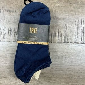 NWT FRYe Supersoft No Show Socks 5 pair pack New